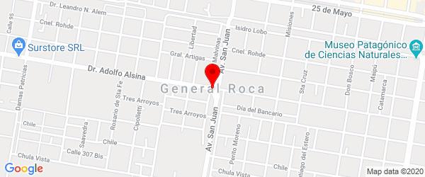 Ruta 6, General Roca, Río Negro