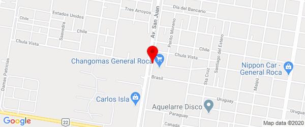 Perón Juan D. 953, General Roca, Río Negro