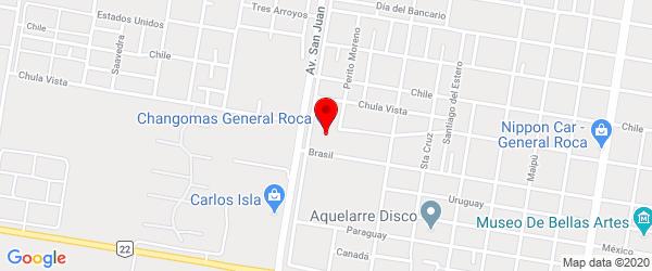 Chula Vista 1550, General Roca, Río Negro
