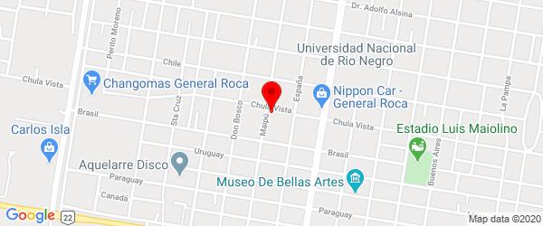 Chula Vista 956, General Roca, Río Negro