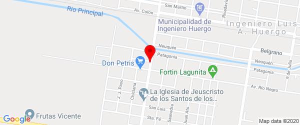 Av. Perón 48, Ingeniero Huergo, Río Negro