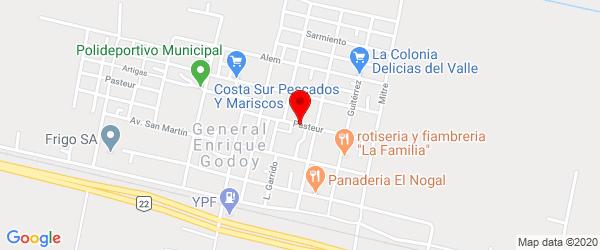 Pasteur 422, General Enrique Godoy, Río Negro