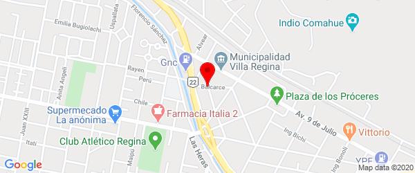 Balcarce 57, Villa Regina, Río Negro