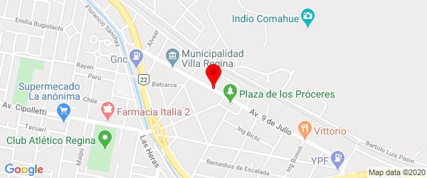 Av. Rivadavia 57, Villa Regina, Río Negro