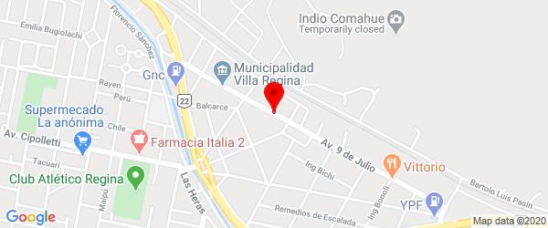 Av. Rivadavia 49, Villa Regina, Río Negro