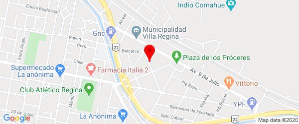 Reconquista 145, Villa Regina, Río Negro