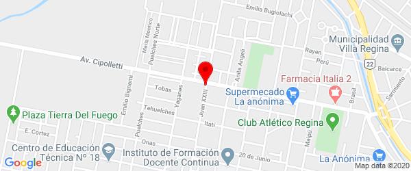 Juan XXIII 55, Villa Regina, Río Negro