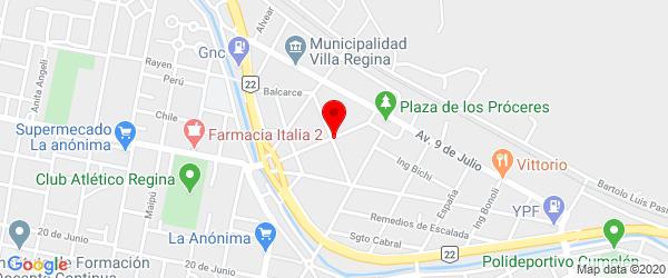 Reconquista 92, Villa Regina, Río Negro