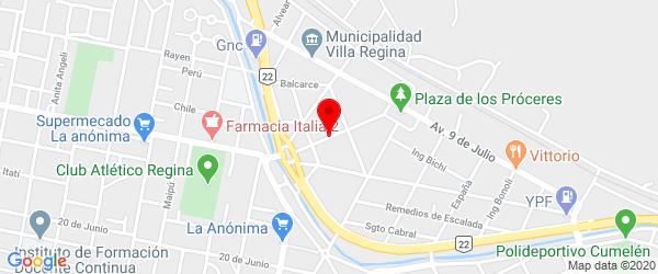 25 de Mayo 125, Villa Regina, Río Negro