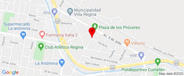 Av. San Martín 44, Villa Regina, Río Negro