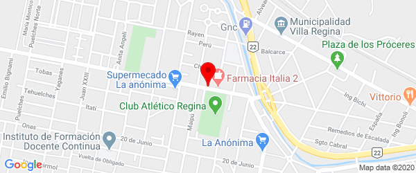Av. Cipolletti 301, Villa Regina, Río Negro