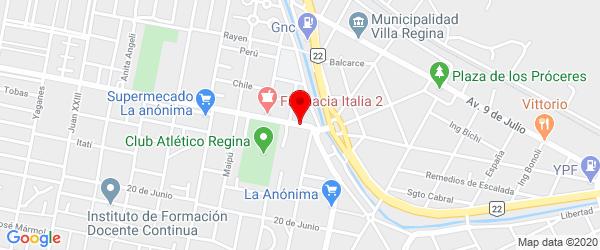 Av. Cipolletti 125, Villa Regina, Río Negro