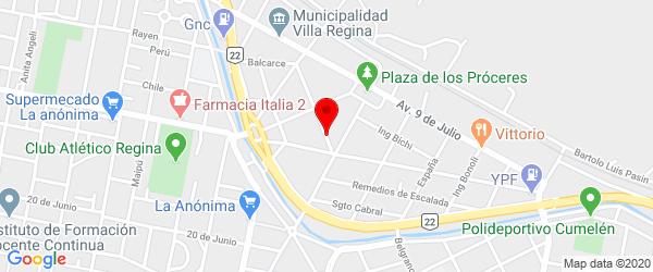 Reconquista 6, Villa Regina, Río Negro