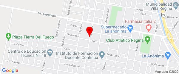 Juan XXIII 173, Villa Regina, Río Negro