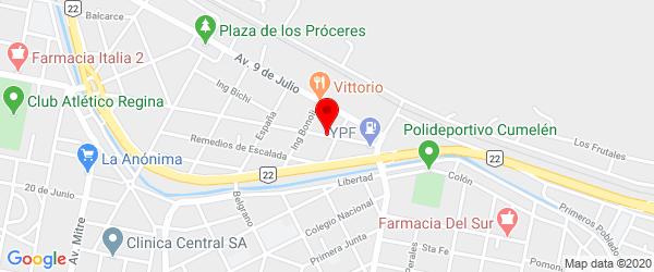 Av. Italia 399, Villa Regina, Río Negro
