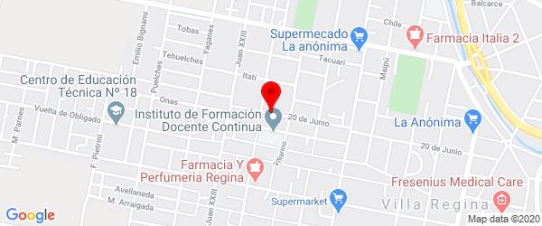 20 de Junio 852, Villa Regina, Río Negro