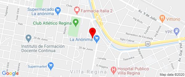 Allemani 431, Villa Regina, Río Negro