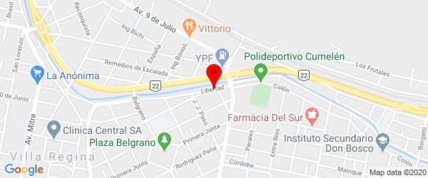 Libertad 321, Villa Regina, Río Negro