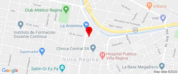 Río Paraná 32, Villa Regina, Río Negro