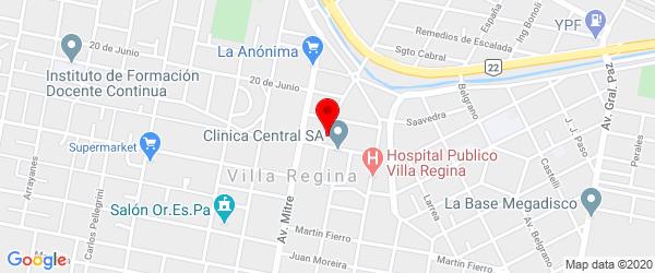 Av. San Martín 436, Villa Regina, Río Negro