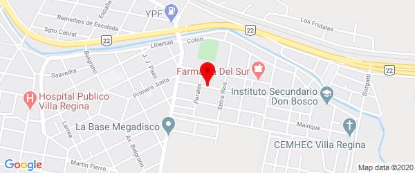 Santa Fe 122, Villa Regina, Río Negro