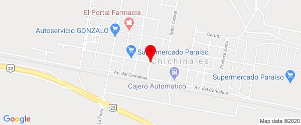 Próceres Argentinos, Chichinales, Río Negro